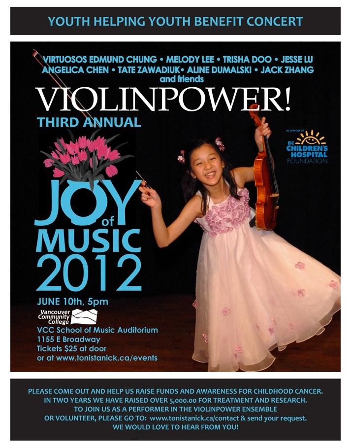 JOY 2012 Poster
